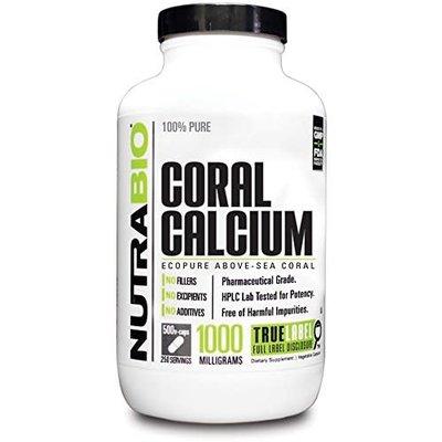 NutraBio Coral Calcium (1000mg) (150ct)