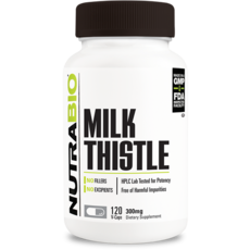 NutraBio Milk Thistle (600mg) (120ct)