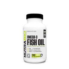 NutraBio Omega 3 Fish Oil (150ct)