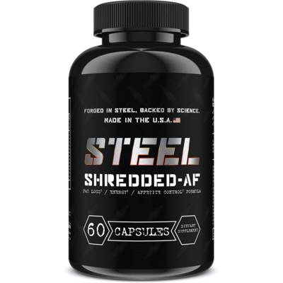 Steel Supplements Shredded-AF