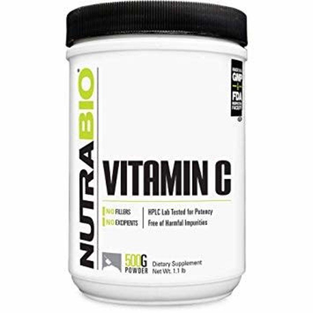 NutraBio Vitamin C Powder (500g)
