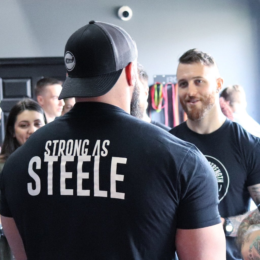Steele House Strength Tee