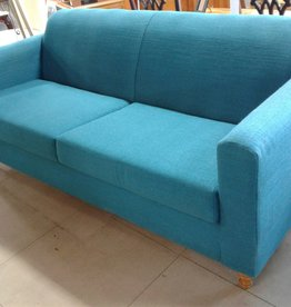 Woodbridge Store Teal Blue Sofa
