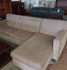 Scarborough Store Tan sectional Sofa Bed