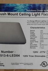 """Woodbridge Store 15"""" Square LED Flush Mount Ceiling Light"""