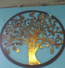 Etobicoke Store Circular Brass Wall decoration