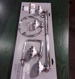 Etobicoke Store Bathroom hardware set