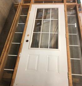 Brampton Store Framed Exterior Door