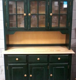 Markham East Store Green Cabinet