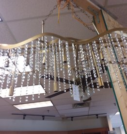 "Vaughan Store ""Crystal drops"" chandelier"