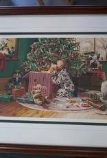 "Markham East Store ""Christmas Morning"" Limited Edition Framed Print - Ron Bayens"