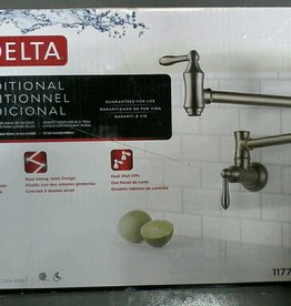 Markham East Store Delta Pot Filler - Brilliance Stainless Steel Finish