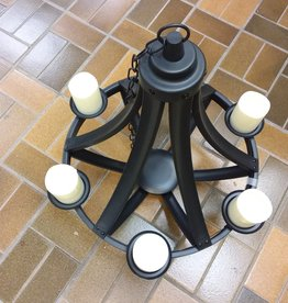 Vaughan Store Outdoor Candle Chandelier