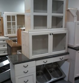 Markham East Store Large Cameo kitchen with cook top and fridge