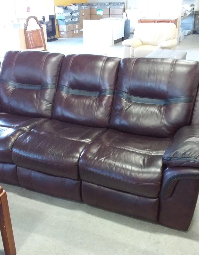 Markham West Store Brown Recliner sofa