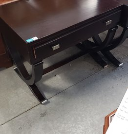 East York  Store Dark wood side table