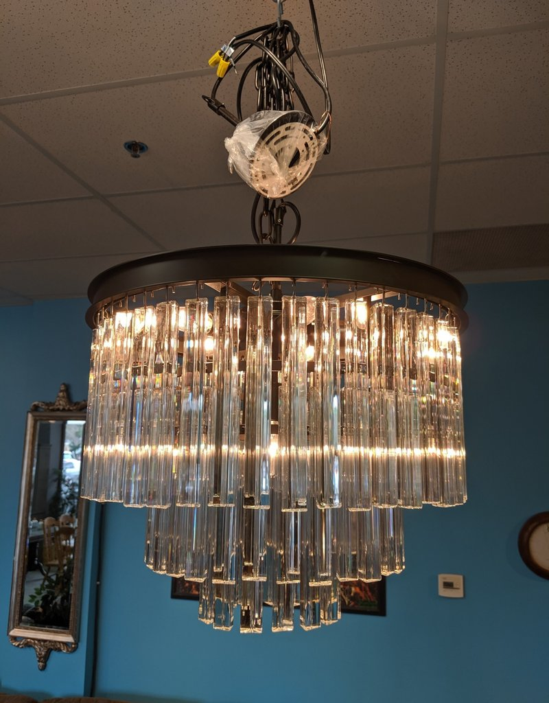Newmarket Store Crystal Chandelier