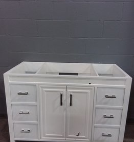 North York Store Vanity- white
