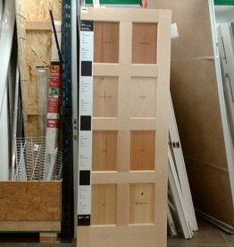 Woodbridge Store Craftsman Wood Sample Door