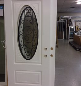 Vaughan Store Metal Doors and Glass Inserts