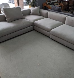 Newmarket Store Grey Sectional Sofa