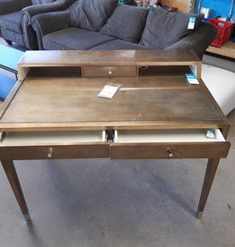 East York  Store Writing Desk with glass top