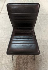 Newmarket Store Black Leather Chair