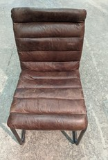 Newmarket Store Brown Leather Chairs