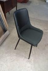 Studio District Store Black Pleather Accent Chair