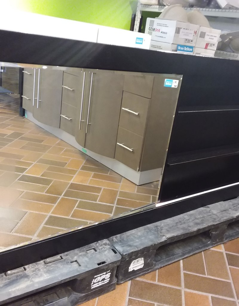 Vaughan Store Bathroom Wall Cabinet with Sliding Mirror