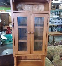 Etobicoke Store Pine cabinet