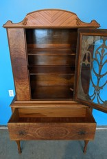 Newmarket Store Antique China Cabinet