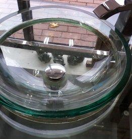 Markham East Store Glass Bathroom Vanity