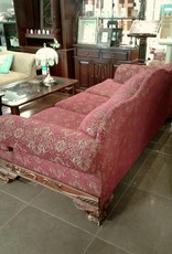 Woodbridge Store Red Patterned Sofa