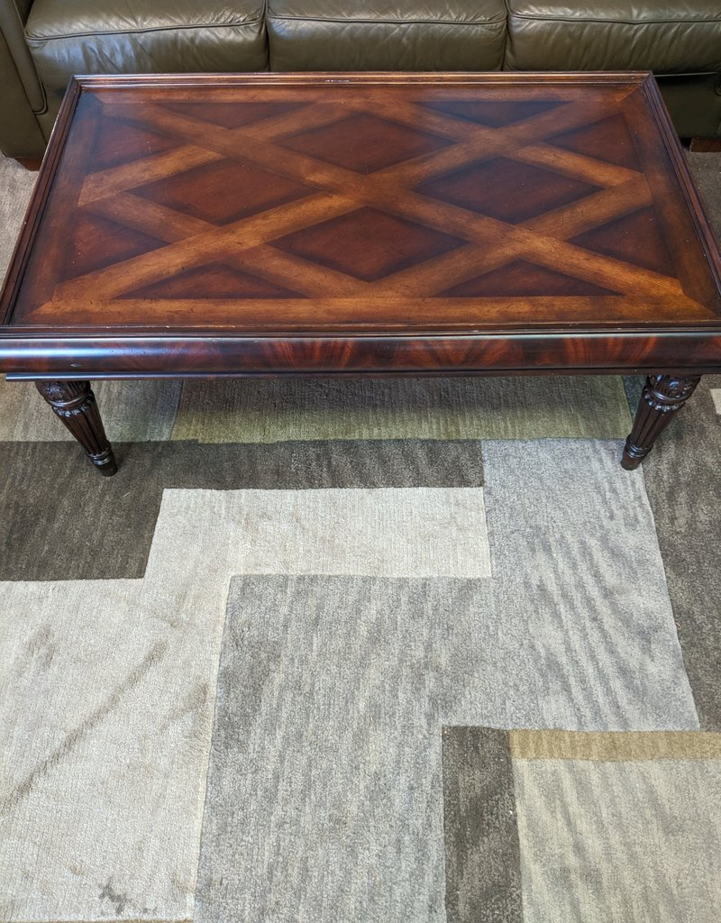 Newmarket Store Decorative Wooden Coffee Table