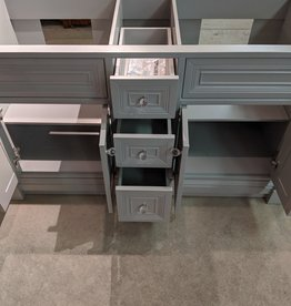 Newmarket Store Double Sink Vanity Base