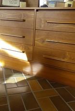 Vaughan Store Teak Dresser with Mirror
