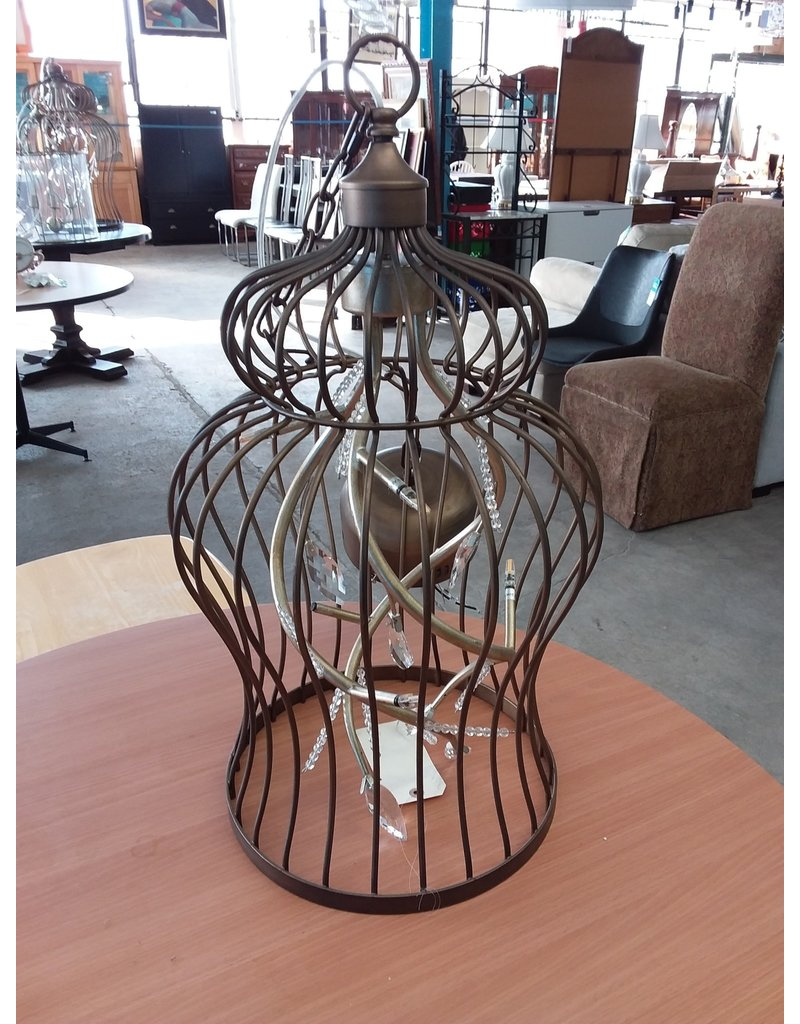 Studio District Small birdcage LED light