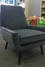 Brampton Store Midnight Blue Velvet Chair
