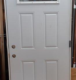 Woodbridge Store Entry Door with Upper Glass Insert