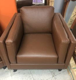 Brampton Store Leather Chair