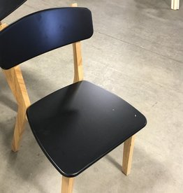 Brampton Store Black Wooden Chair
