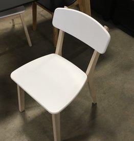 Brampton Store White Wooden Chair