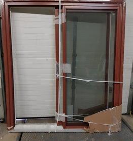 Woodbridge Store Brick Red Sliding Door