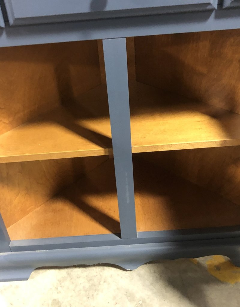 Brampton Store Blue Curio Cabinet