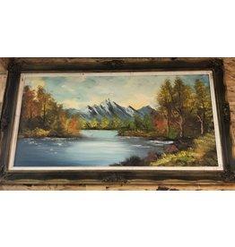 Brampton Wooden Framed Painting
