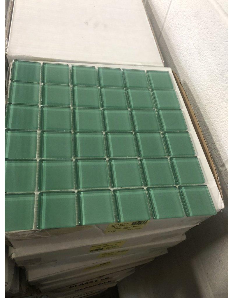 Brampton Glass Backsplash Tile (Green)