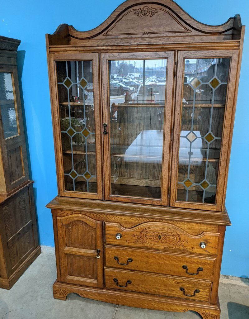 Newmarket Store Antique Hutch