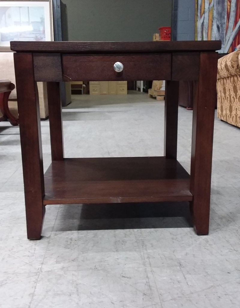 North York Store Brown side table