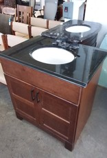 Studio District Store Black and Brown Vanity